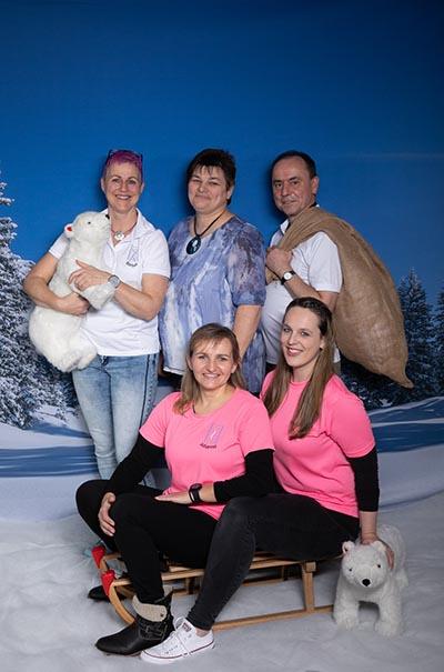 Mitarbeiterfoto Winter-Fotoaktion im Skoliose-Therapie Zentrum Unna