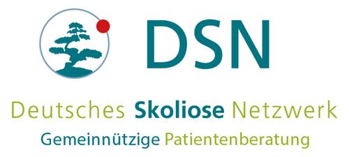 Logo DSN - Skoliose-Therapie-Zentrum, Unna, ist Fördermitglied